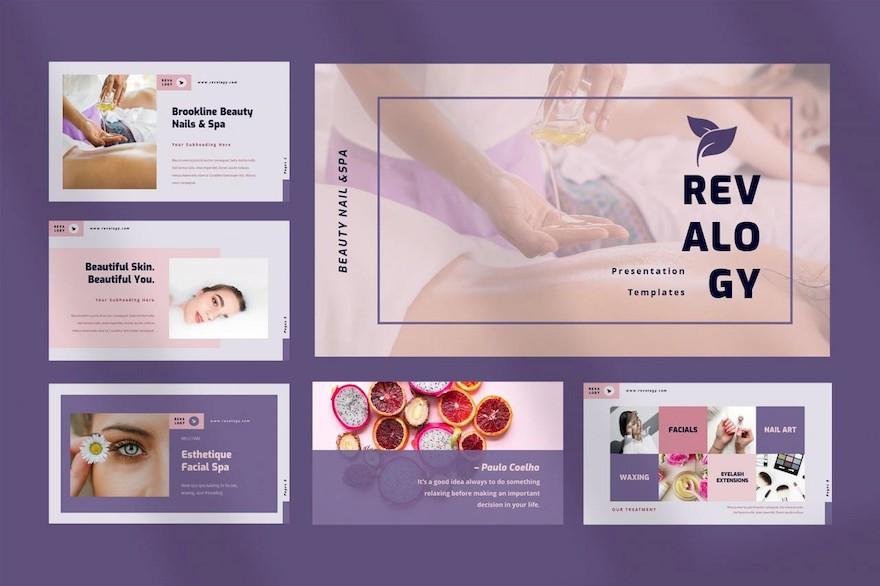 时尚美容行业PPT模板[PowerPoint/8.3MB]百度网盘下载插图(1)