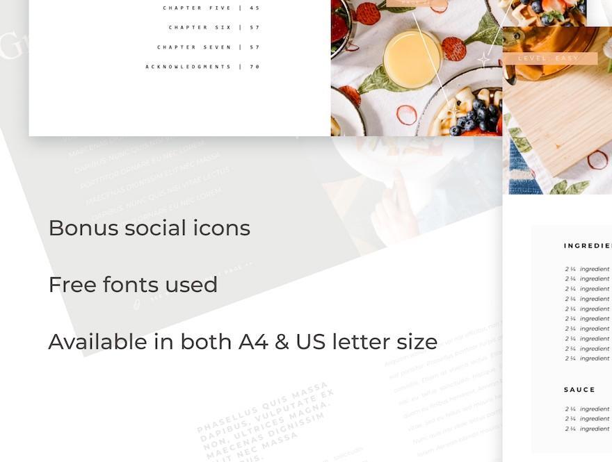 精美的食谱类介绍ppt模板[PowerPoint/1.6MB]百度网盘下载插图(2)