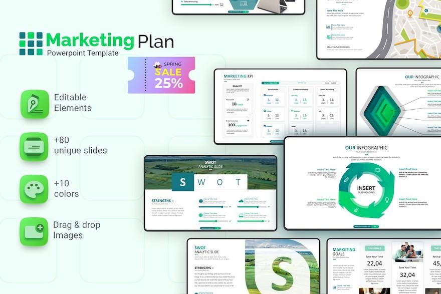 市场销售分析方案ppt模板[PowerPoint/9.5MB]百度网盘下载