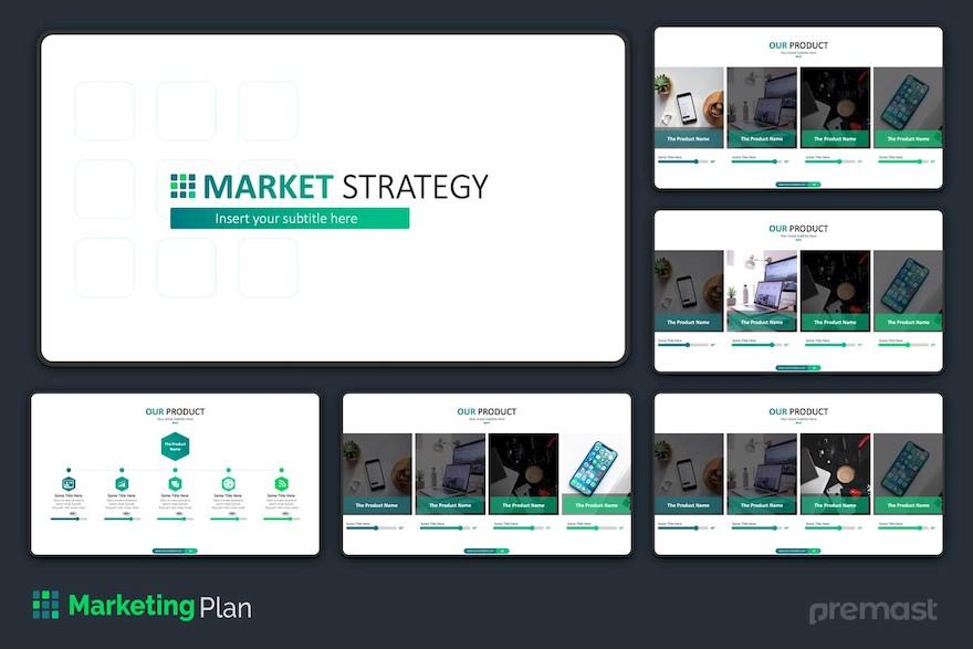 市场销售分析方案ppt模板[PowerPoint/9.5MB]百度网盘下载插图(2)