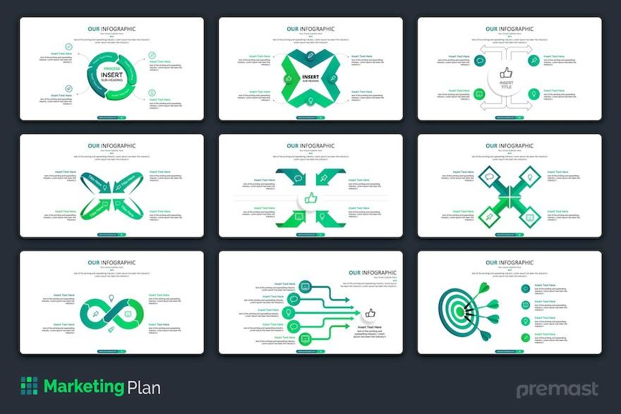 市场销售分析方案ppt模板[PowerPoint/9.5MB]百度网盘下载插图(3)