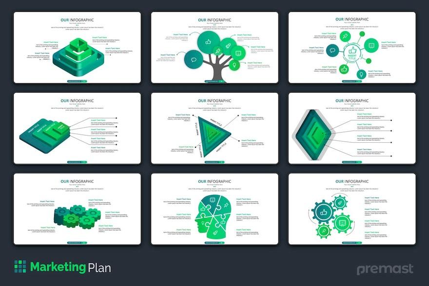 市场销售分析方案ppt模板[PowerPoint/9.5MB]百度网盘下载插图(4)