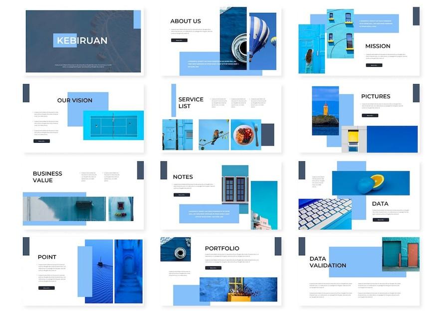 简约高质感的商务ppt模板[PowerPoint/1.5MB]百度网盘下载插图(2)