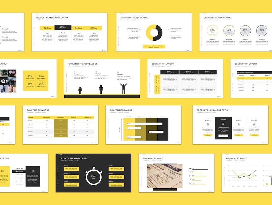 实用的商业营销PPT模板[PowerPoint/275.9MB]百度网盘下载插图(2)