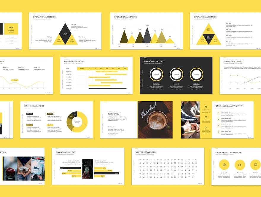 实用的商业营销PPT模板[PowerPoint/275.9MB]百度网盘下载插图(3)