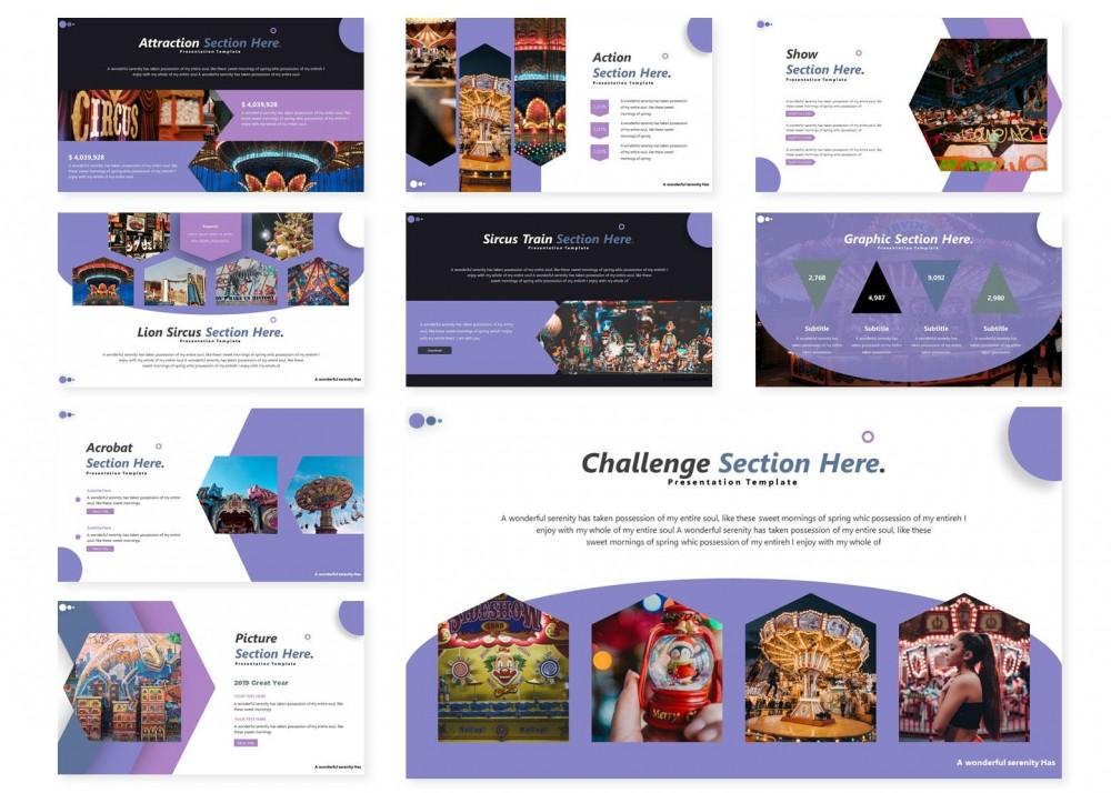 紫色高雅的市场调研ppt模板[PowerPoint/8.1MB]百度网盘下载插图(2)