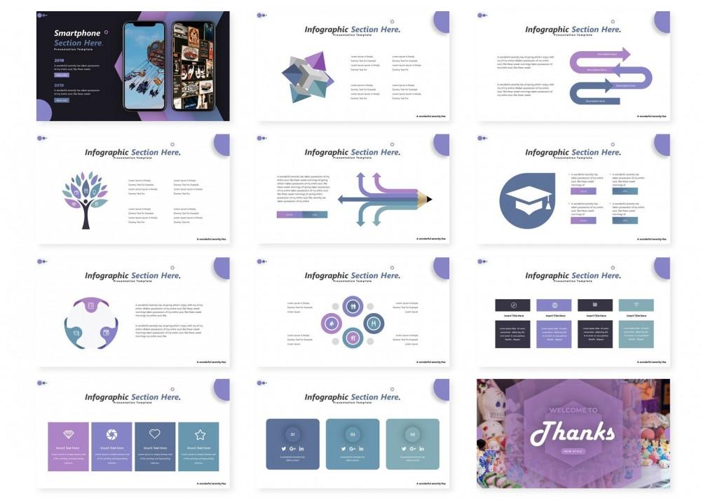 紫色高雅的市场调研ppt模板[PowerPoint/8.1MB]百度网盘下载插图(3)