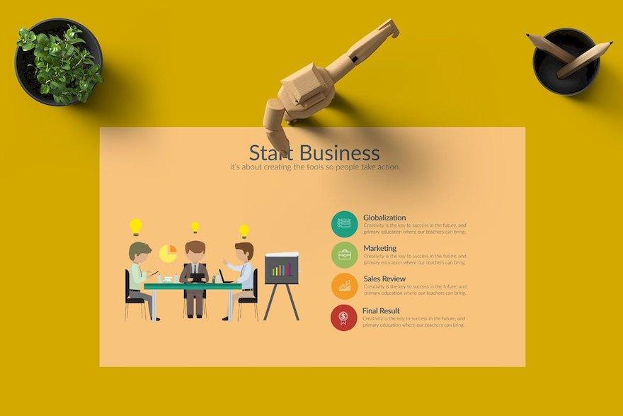 创意的商业产品营销PPT模板[PowerPoint/99.2MB]百度网盘下载插图(2)