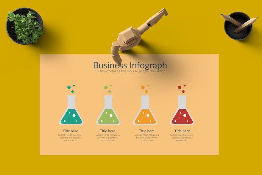 创意的商业产品营销PPT模板[PowerPoint/99.2MB]百度网盘下载插图(4)
