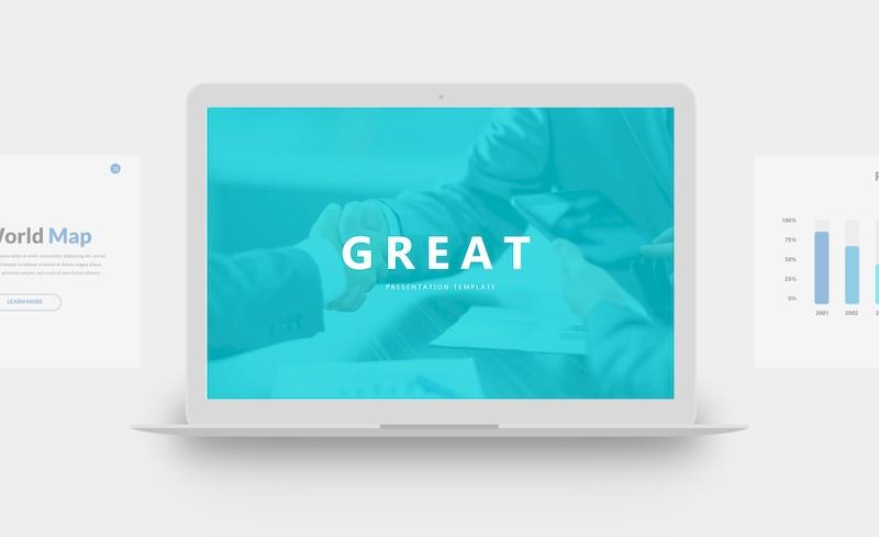 创意精美的商业主题演讲ppt模板[PowerPoint/22MB]百度网盘下载