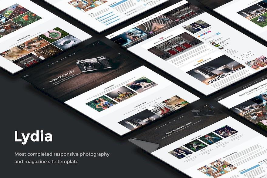 摄影图片网站html设计模板[HTML/25.7MB]百度网盘下载