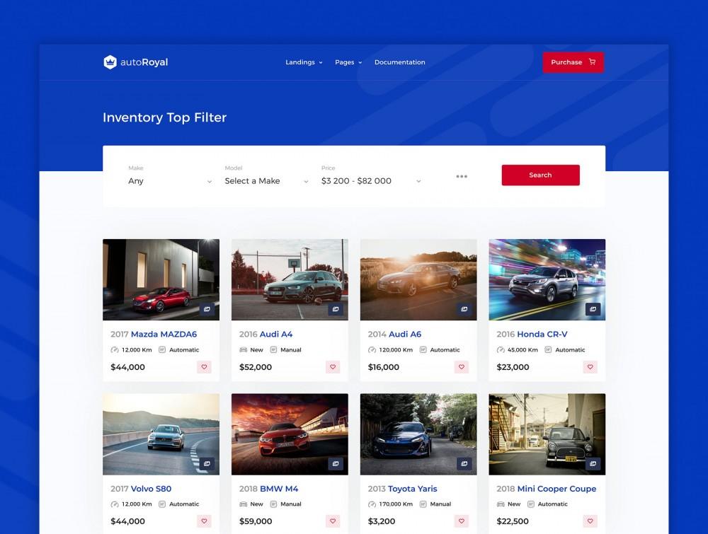 汽车市场网站html设计模板[HTML/4.8MB]百度网盘下载插图(1)