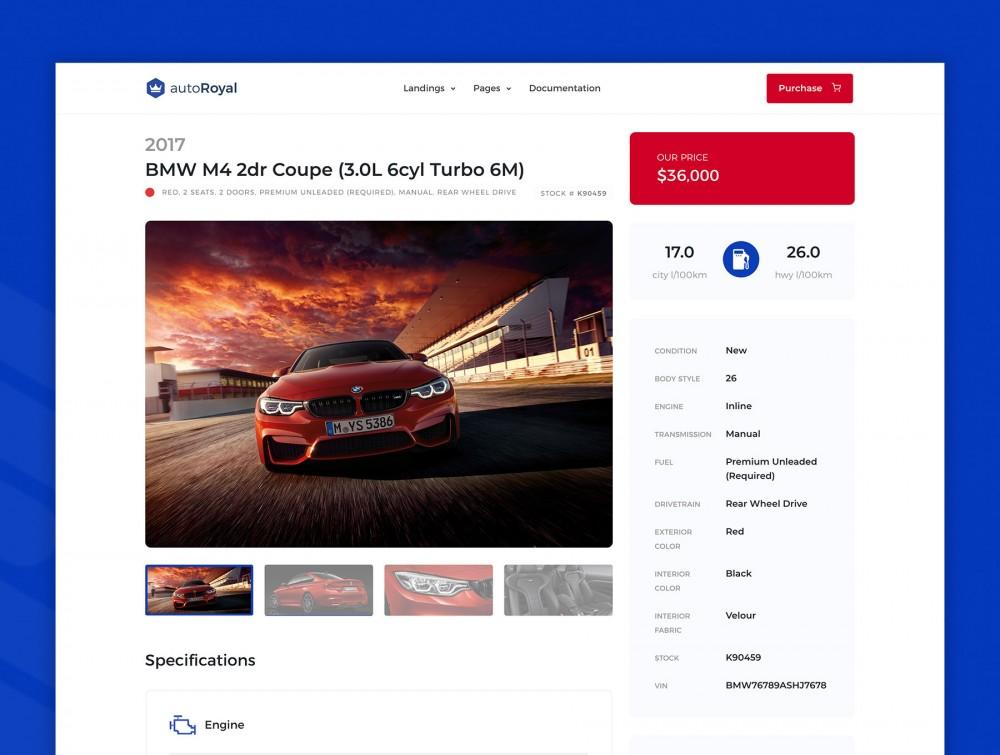 汽车市场网站html设计模板[HTML/4.8MB]百度网盘下载插图(2)