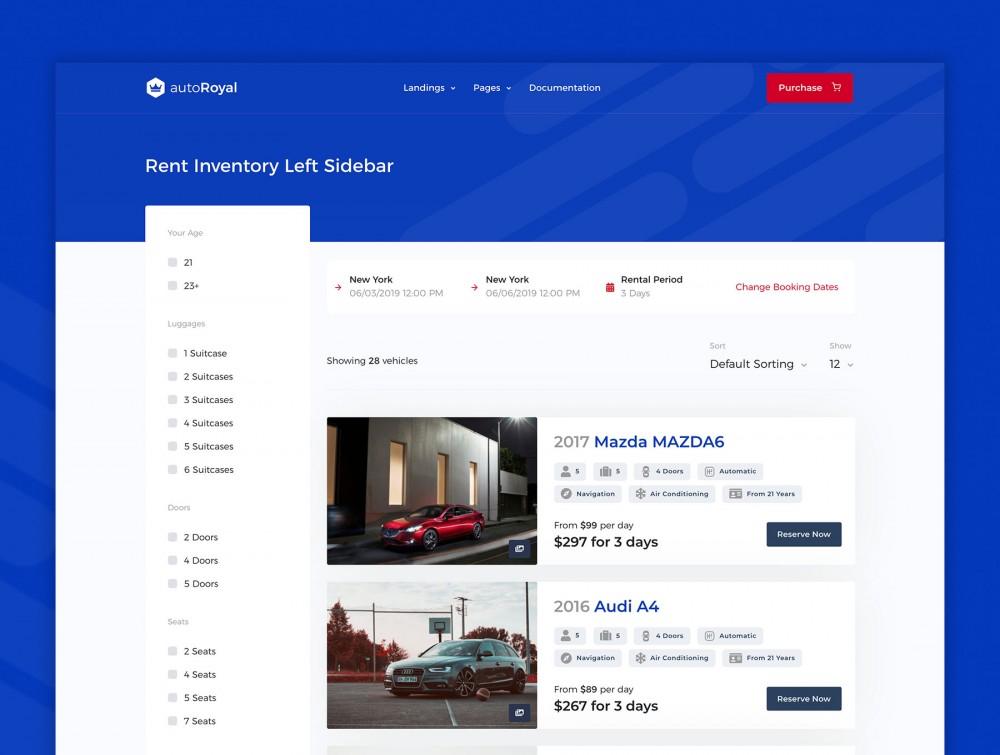 汽车市场网站html设计模板[HTML/4.8MB]百度网盘下载插图(3)