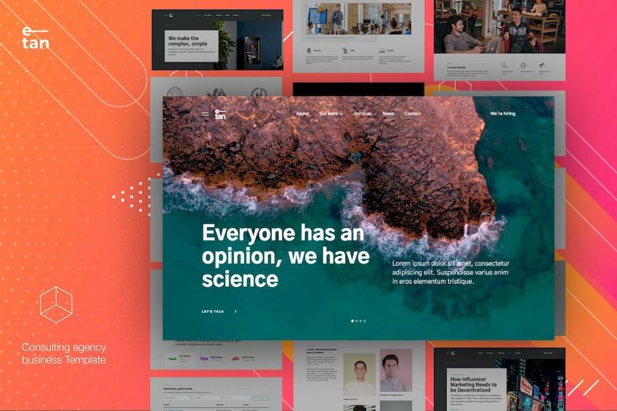 简洁实用的html企业网站设计模板[HTML/6.6MB]百度云网盘下载