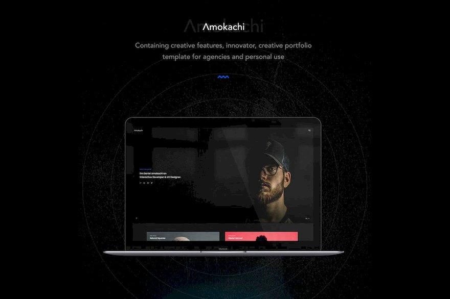 创意公司个人作品集网站html模板