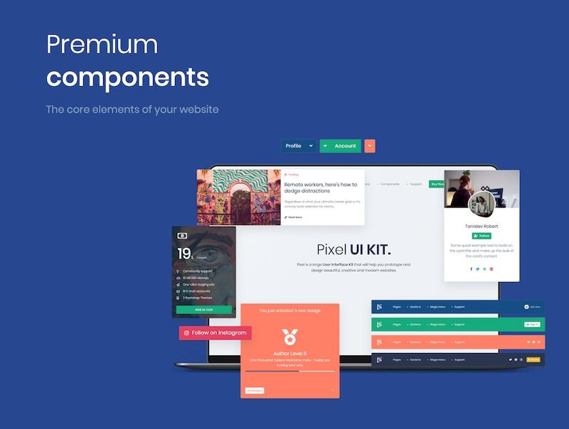 Pixel PRO - Premium Bootstrap 4 UI Kit-5.jpg