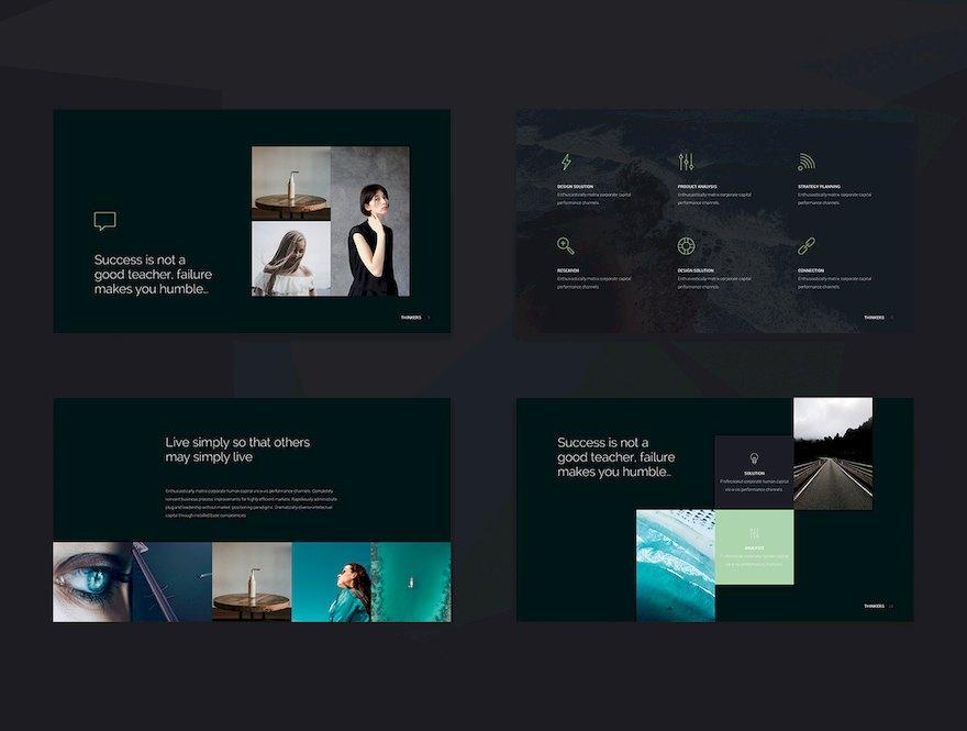 北欧极简风格PPT模板[PowerPoint/Keynote/12.9MB]百度网盘下载插图(4)