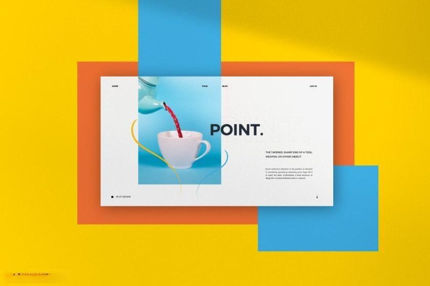 时尚动感活泼配色的公司介绍ppt设计模板[PowerPoint/4.88MB]百度网盘下载插图(8)