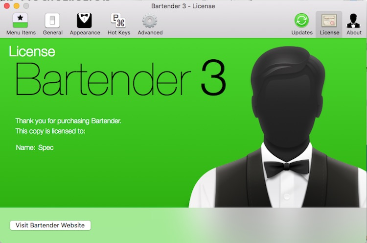 Bartender菜单栏管理工具 软件介绍及安装(Mac版)