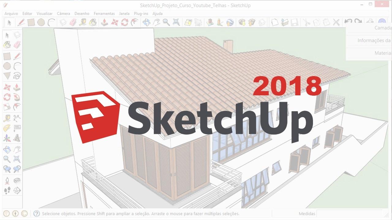 草图大师sketchup 2018 软件介绍及安装教程(Win版)百度网盘下载