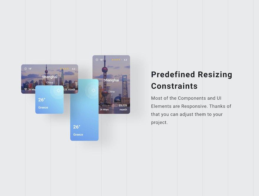 实用的旅游攻略app界面设计模板-Sketch/Figma素材