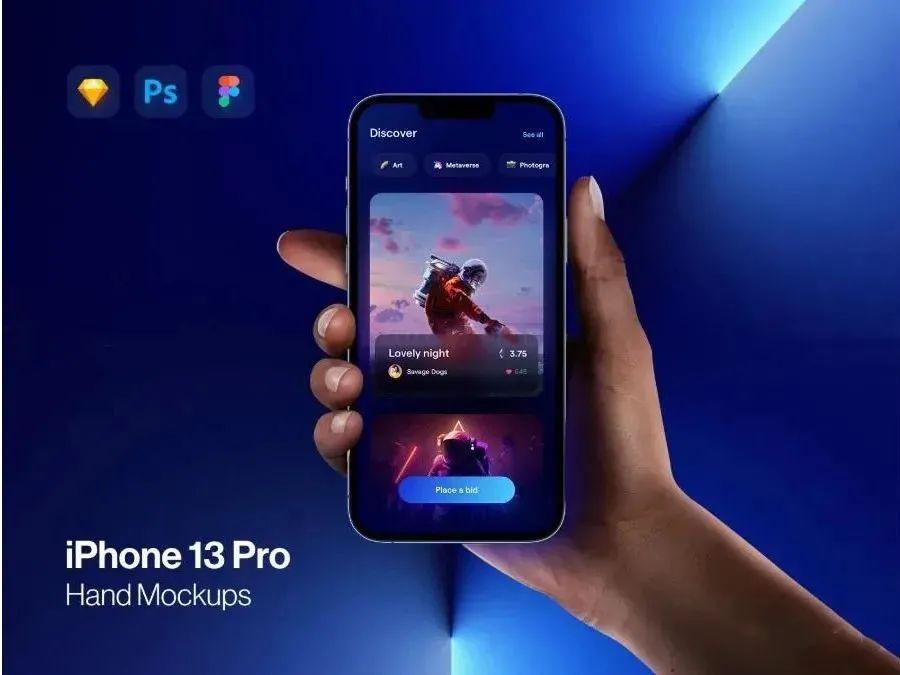 最新的iphone13 pro样机来了!速速用上~插图(2)