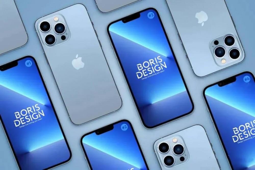 最新的iphone13 pro样机来了!速速用上~插图(4)