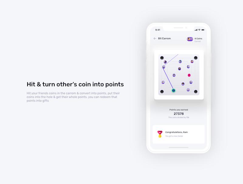 比特币市场app设计模板-Adobe XD素材